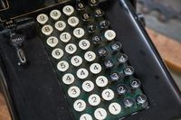 Old calculator detail