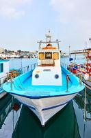 Fishing boats in Larnaca