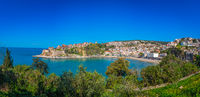 Panoramic view of the Old town of Ulcinj