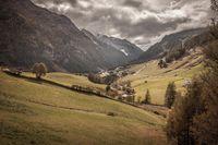 Alpine meadows in Valle Aurina