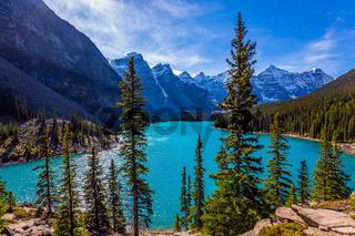 Lake Moiraine, most beautiful lakes
