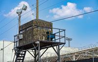 Deep South County Correctional Facility Jail Watchtower Texas Summer