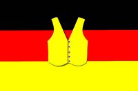yellow vest on the German flag