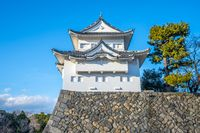 Southwest Turret of Nagoya Castle landmark in Nagoya, Japan