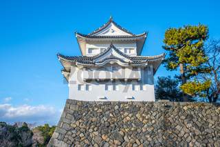 Southwest Turret of Nagoya Castle landmark in Nagoya, Japan