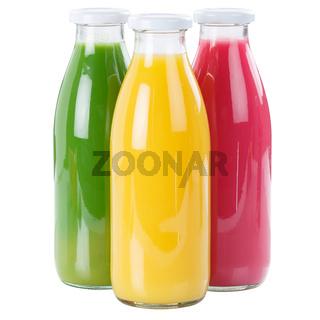 Saft Smoothie Smoothies Flasche Fruchtsaft Quadrat freigestellt Freisteller