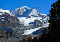 Zermatter Gipfel, Wallis, Schweiz
