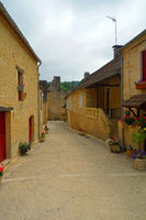 Saint-Pompont in frankreich