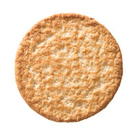 wheat cracker isolated