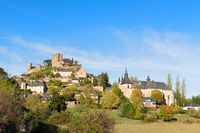 Village Turenne in French Correze