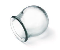 Single medical cupping glass