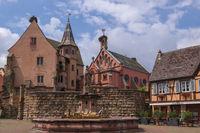 Eguisheim - Burg mit St.-Leo-Kapelle