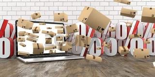Notebook Shipping Cartons Discount