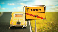 Street Sign Beautiful versus Ugly