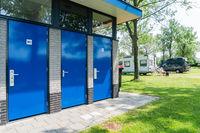 Mobile home parkingplace service buildings