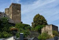 Castle Runkel in the german village called Runkel