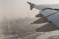 Flight over Dubai