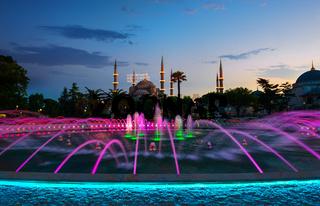 Blue Mosque Illuminated