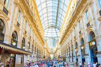 Shopping at Galleria Vittorio Emanuele