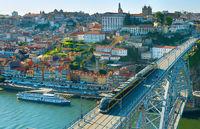 Porto Old Town cityscape, Portugal