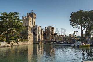 Rocca Scaligera   Sirmione Gardasee