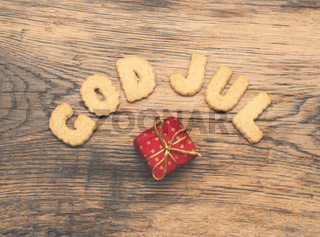 Scandinavian Merry Christmas, God Jul
