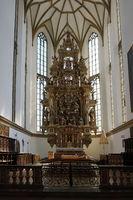 Basilika St. Ulrich und Afra in Augsburg, Bayern, Deutschland