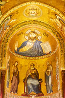 Christ Pantokrator in The Cathedral of Cefalu