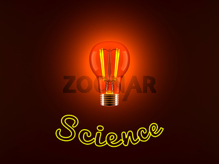 Light Bulb and Science
