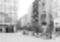 Blurred Image of the City Street