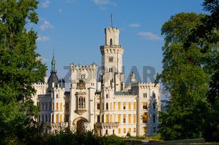 Czech Republic castle Hluboka nad Vltavou