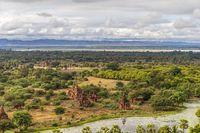 The plain of Bagan (Pagan), Mandalay, Myanmar