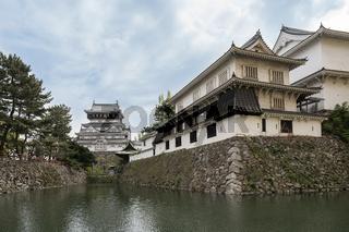 Kokura Castle landmark in Kitakyushu, Japan