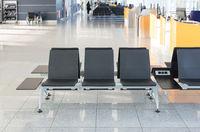Airport terminal, empty seats