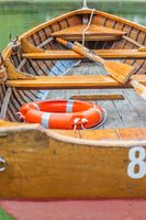 Beautiful old rowing boats