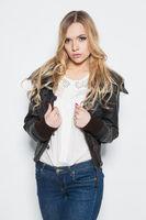 Portrait of elegance young blonde