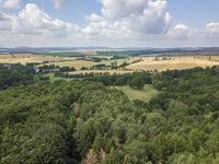 rural thuringia Aerial