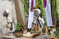 Religious altar of Umbanda