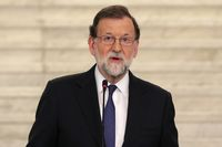 Prime minister of Spain Mariano Rajoy