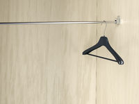 Empty coat hanger
