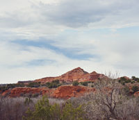 View at Palo Duro Canyon State Park in Texas