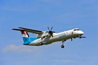 Luxair, De Havilland Canada DHC-8-400, LX-LGG, Luxemburg