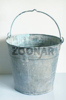 Empty Metal Bucket