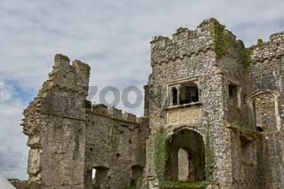 Carew Castle in Pembrokeshire, Wales, England, UK