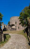 Castle ruin called Krukenburg in germany