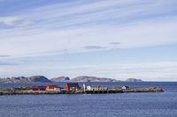 Hafenmole in Sandviksberget