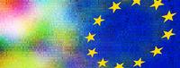 europa bunt vielfalt abstrakt zahlen