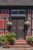 Fachwerkhaus-Hausfassade