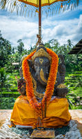 Ganesh statue in Bali, Indonesia
