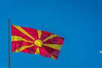 Republic of Macedonia  national flag